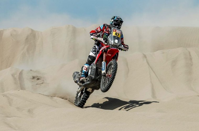 Monster Energy Tutup 6 Stage Dakar Rally 2018 Puncaki Klasemen