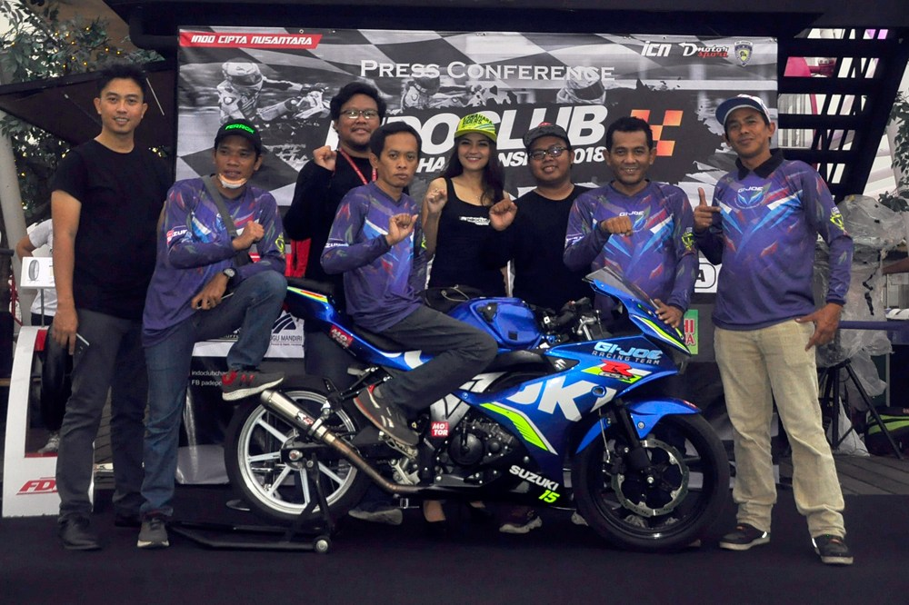 Debut GI-JOE Racing Team di Indoclub Champhionship 2018