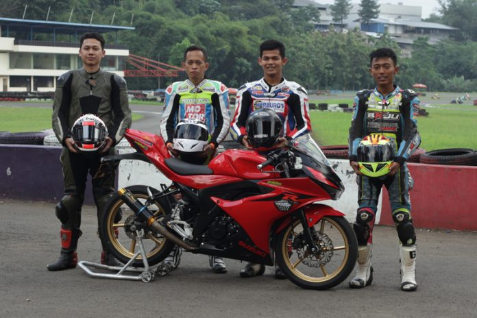 GI-JOE Racing Team Latihan Bareng Rider Asia
